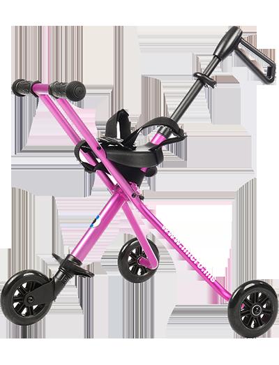 瑞士m-cro迈古德陆诗婴儿手推车粉色-TR0004