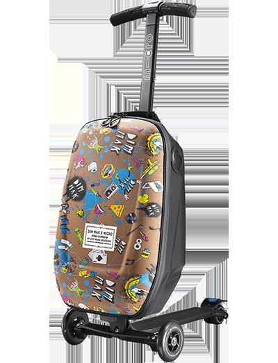 瑞士米高滑板车行李箱史蒂夫青木特别版