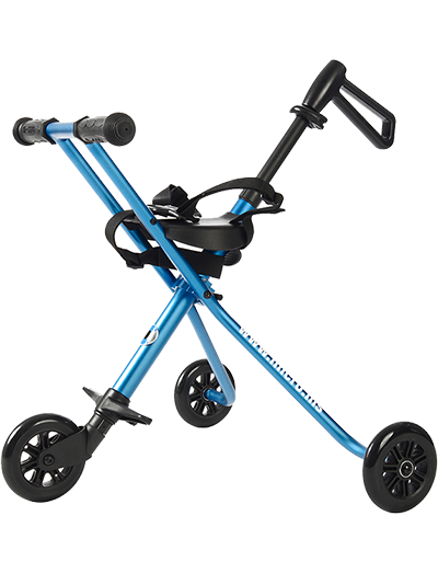 瑞士m-cro迈古德陆诗婴儿手推车蓝色-TR0005