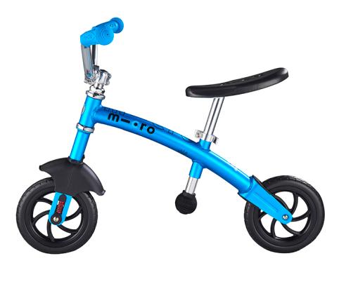 瑞士m-cro迈古平衡车可调节高度锻炼平衡感滑步骑士滑步车 蓝色