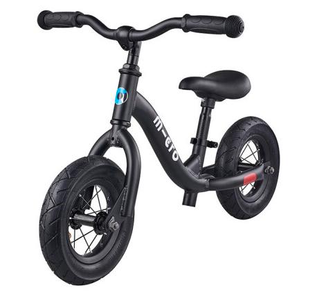 【新品上市】瑞士m-cro迈古平衡车可调节高度锻炼平衡感滑步骑士滑步车斑马款 黑色