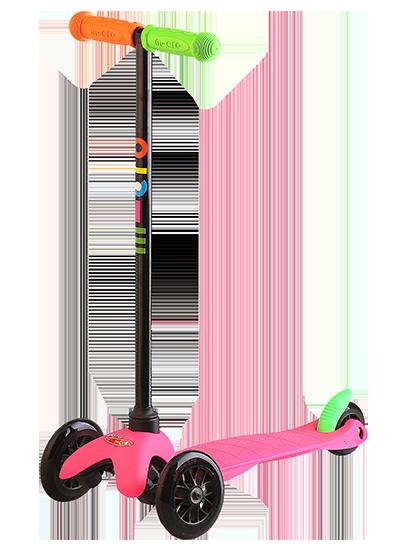 瑞士m-cro迈古乐动儿童三轮滑板车德国原装进口 MM0091