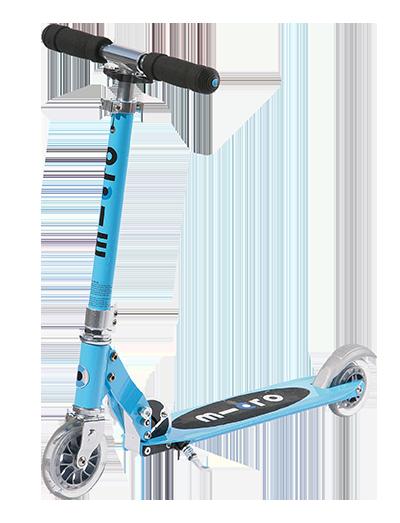 【热卖推荐】瑞士m-cro迈古大童滑板车 精灵sprit可调节高度可折叠易携带二轮青少年滑板车