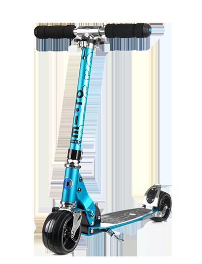 【城市代步】瑞士m-cro迈古青少滑板车火箭系列可折叠可调节高度磨砂踏板城市代步工具
