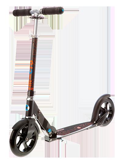 瑞士米高黑白成人代步二轮滑板车可折叠 SA0034
