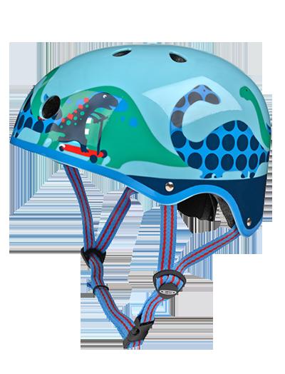 瑞士米高滑板车专用儿童头盔 恐龙款