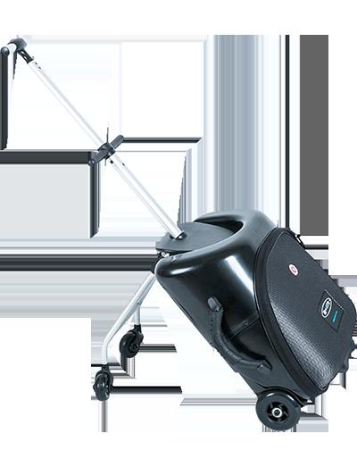 瑞士米高懒人行李箱黑色 ML0011